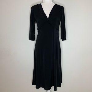 BCBGMAXAZRIA Knot Front Dress